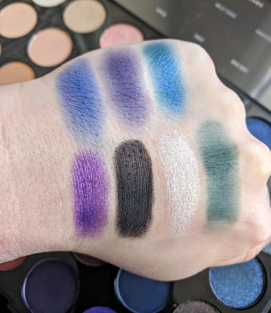 Morphe 35V Stunning Vibes Artistry Eyeshadow Palette Review – The